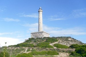 Cabo de Palos lighthouse by Mary Brazier
